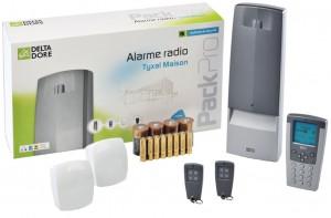Alarme de maison Delta Dore - Alarme Radio Tyxal pour la Maison